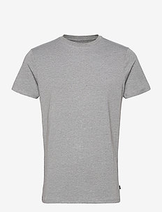 BAMBOO R-NECK TEE - t-shirts basiques - grey