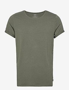 BAMBOO JIMMY TEE - basic t-shirts - green