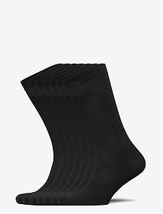 RR, bamboo 7-pack sock travel - normale sokken - black