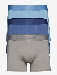BAMBU 3-PACK Gunnar - alusvaatteet - grey/blue