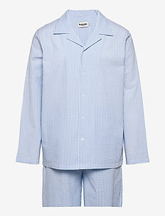 Resteröds Woven Pyjamas - pyjama's - light blue