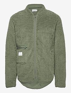 Original Fleece Jacket. - basic sweatshirts - grön