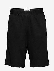 Sweat shorts bamboo. - SVART