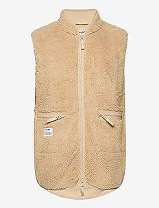 Fleece Vest - vesten - beige