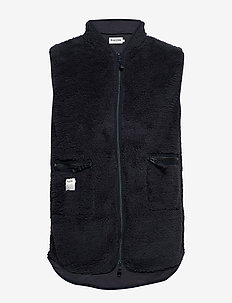 Fleece Vest - MULTI