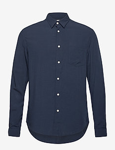 Resteröds regular shirt - chemises basiques - navy