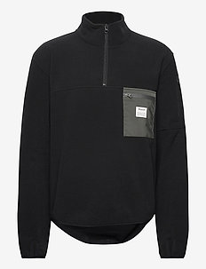 PULLOVER RECYCLED POLYESTER - basic-sweatshirts - black