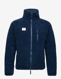 Resteröds Zip Fleece Jacket - podstawowe bluzy - navy