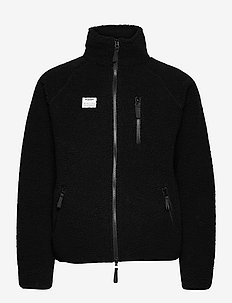 Resteröds Zip Fleece Jacket - basic-sweatshirts - svart