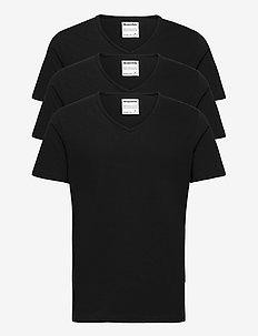 ORIGINAL men's V-neck tee 3-p. - t-shirts basiques - black