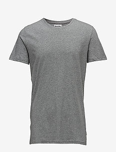 ORIGINAL mens r-neck tee no 3 - kurzärmelig - grey melan