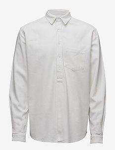 Pop over shirt - linskjorter - white
