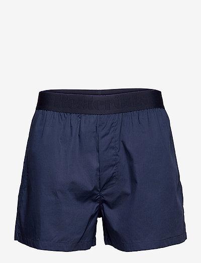 Resteröds Pyjamas Shorts Org. - bottoms - navy