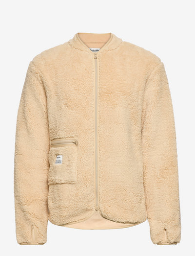 Original Fleece Jacket Recycle - teddytrøjer - beige