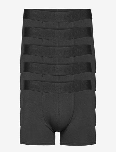 BOXER Org. cotton 5-PACK GOTS - underkläder - svart