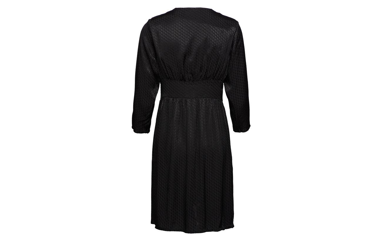 Dress 100 Viscose Black Résumé Krystal 1gZqxS