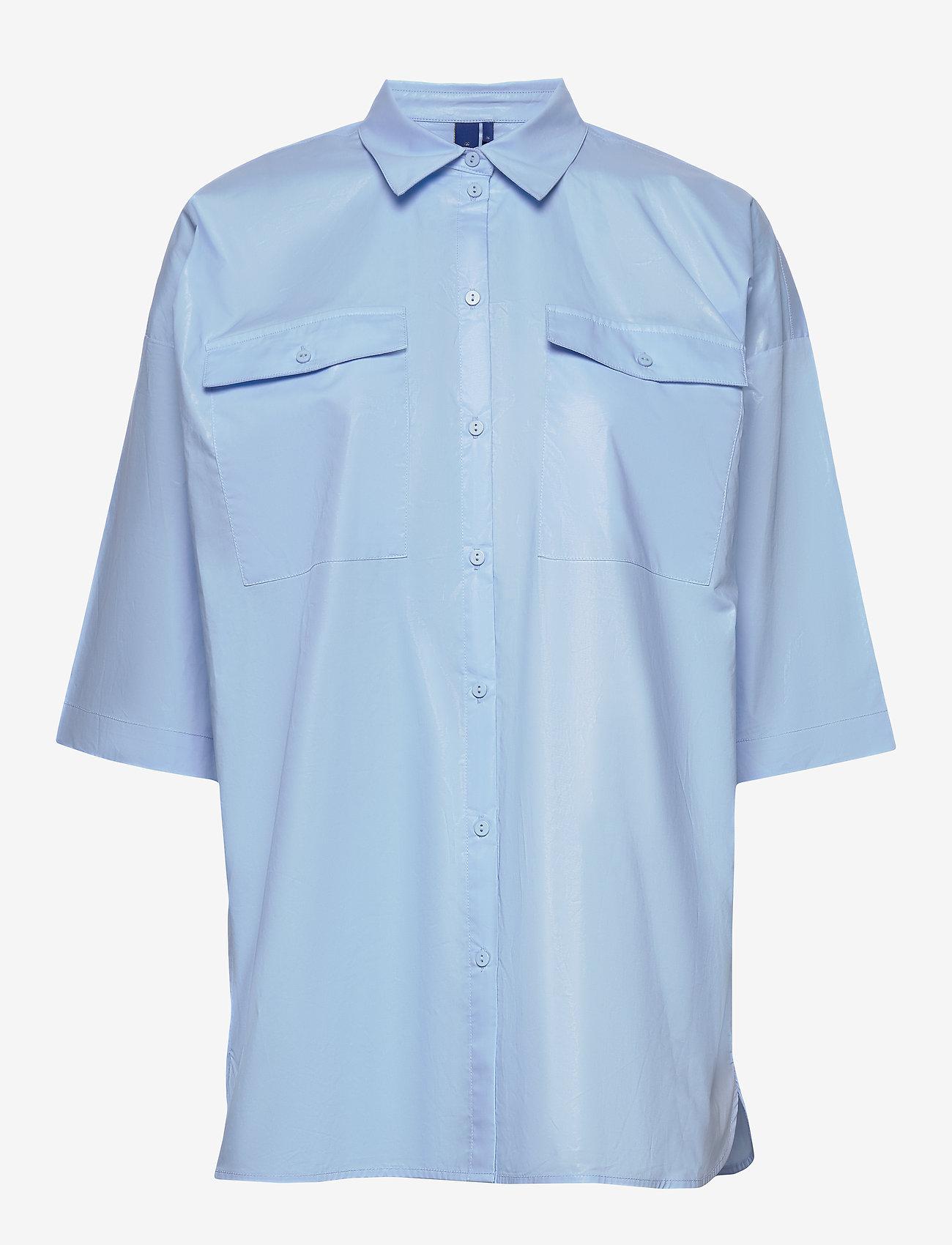 Résumé - Tinsley shirt - overhemden met korte mouwen - sky - 0