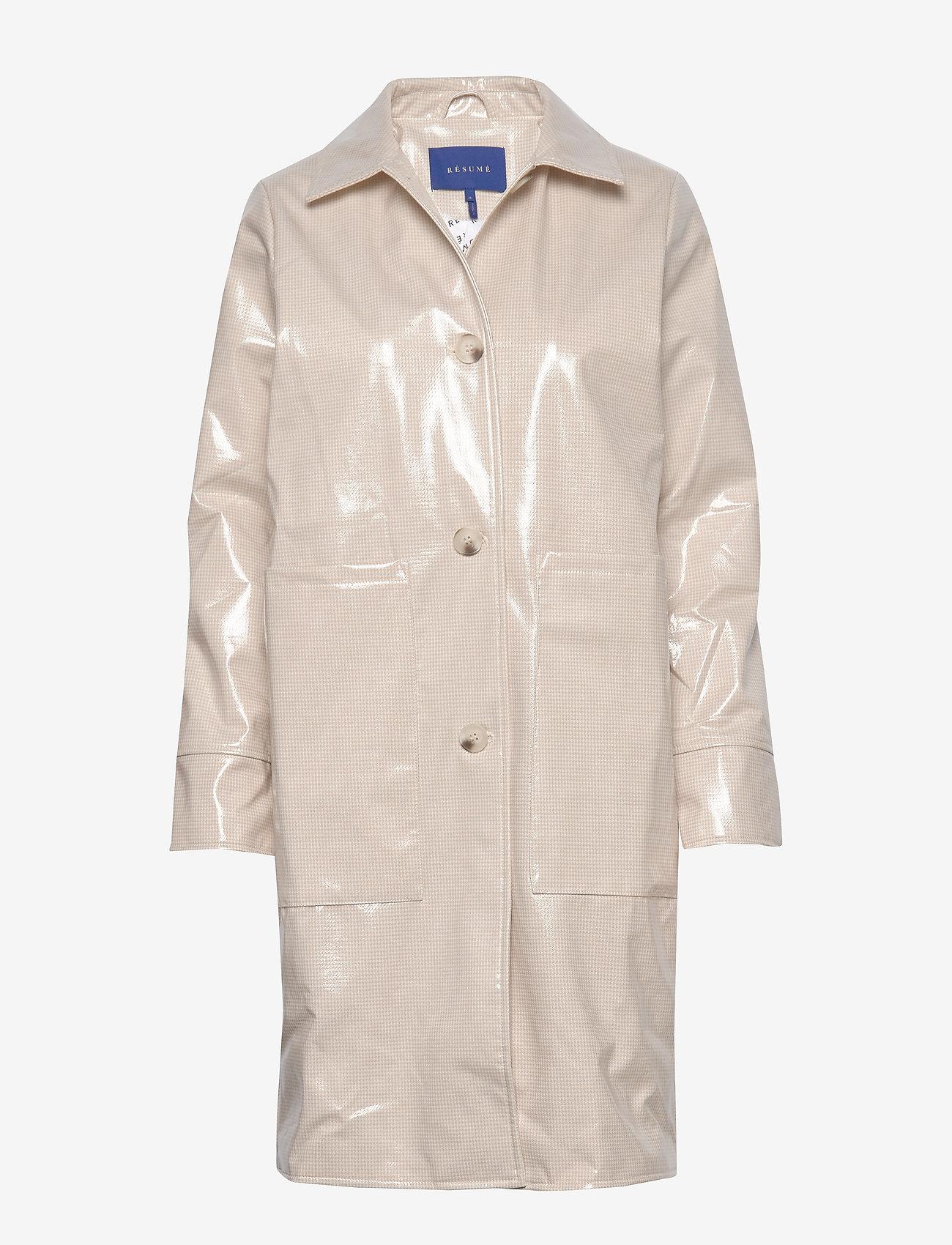 Résumé - Tennessee coat - dunne jassen - sand - 0