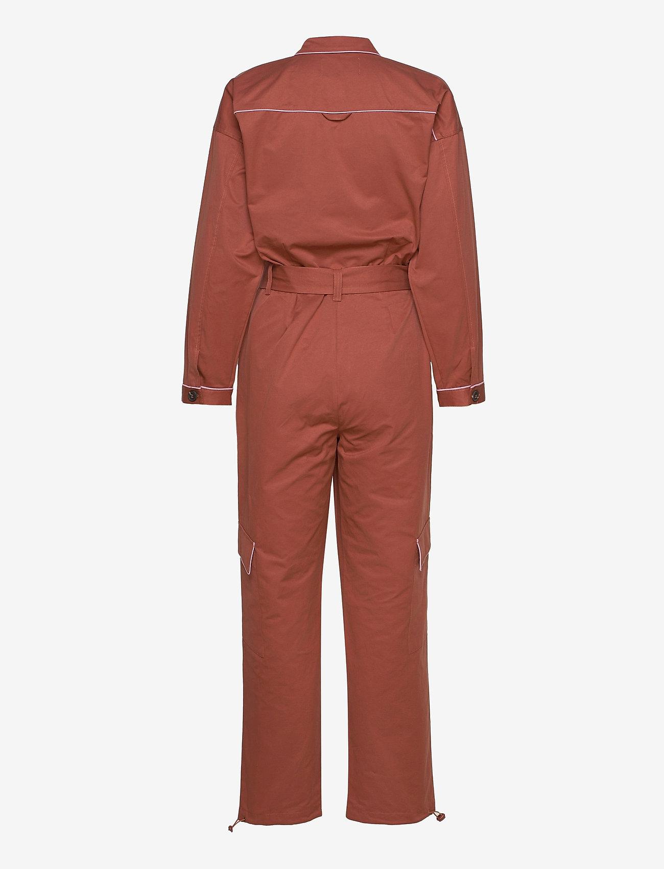 Résumé - Antonette Jumpsuit - jumpsuits - clay - 1