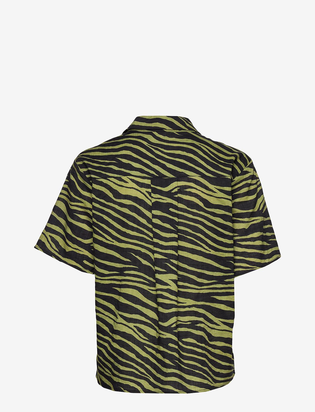 Résumé - Utah Shirt - koszule z krótkim rękawem - olive - 1