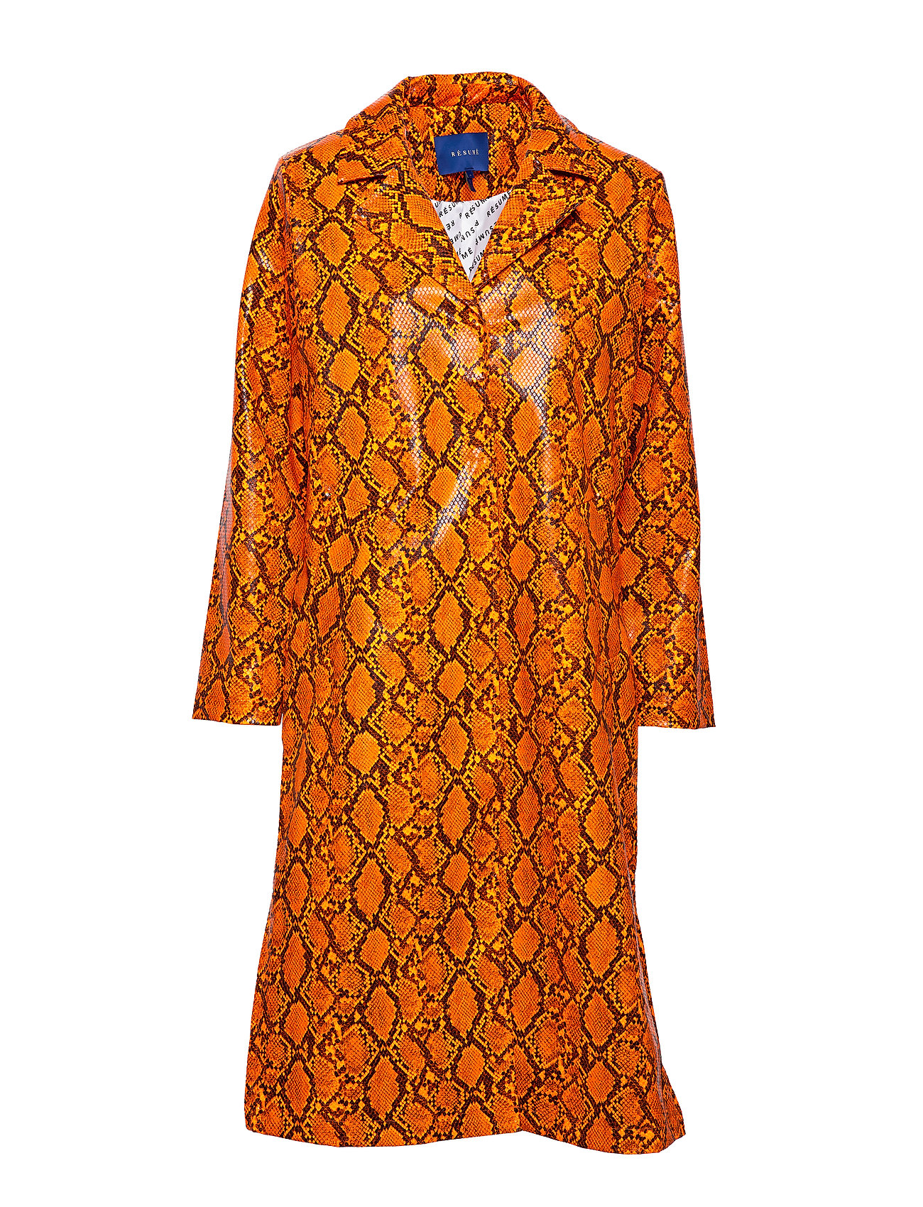 Résumé Leia coat - ORANGE