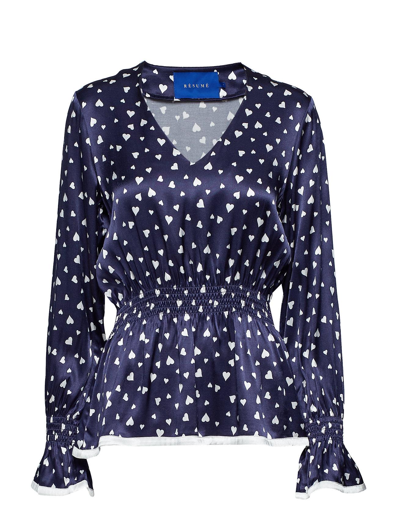 Résumé Madison blouse - NAVY