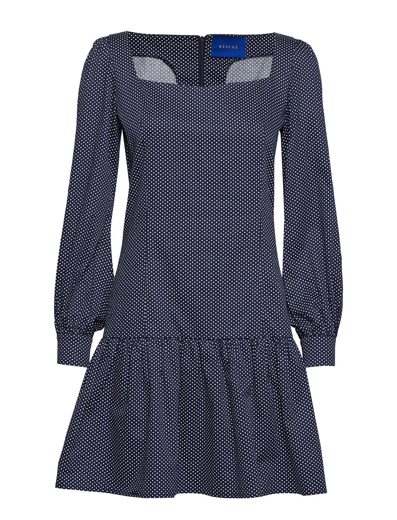 Résumé Montana dress - NAVY