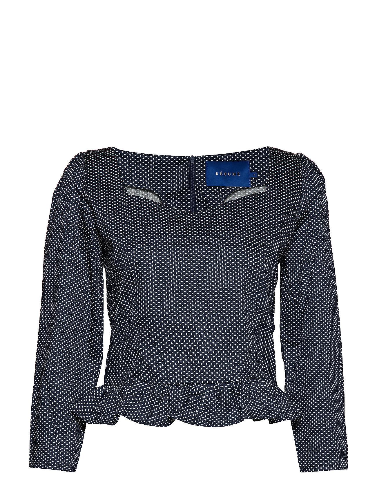 Résumé Morise blouse - NAVY