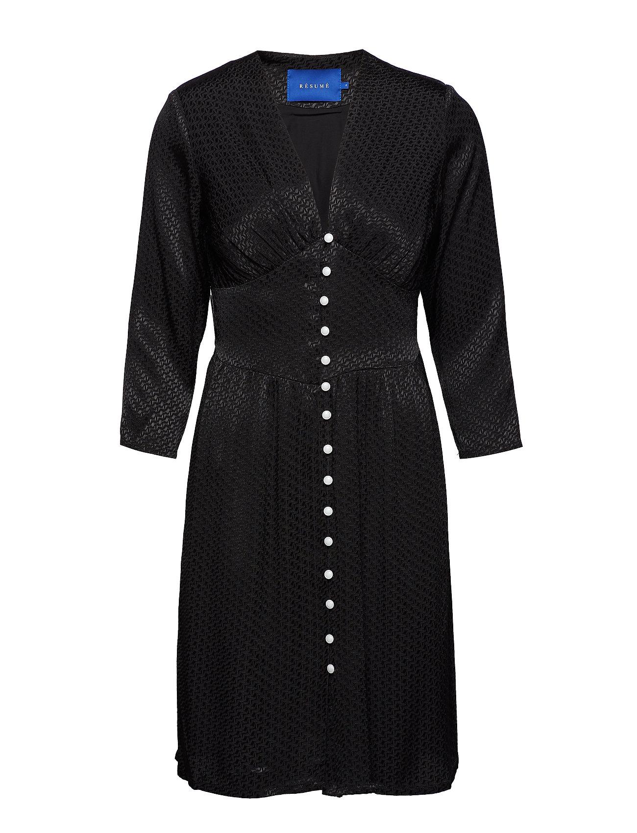 Résumé Krystal dress - BLACK
