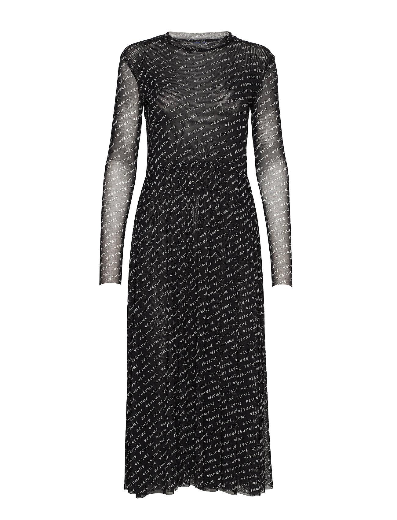 Résumé Pinar dress - BLACK
