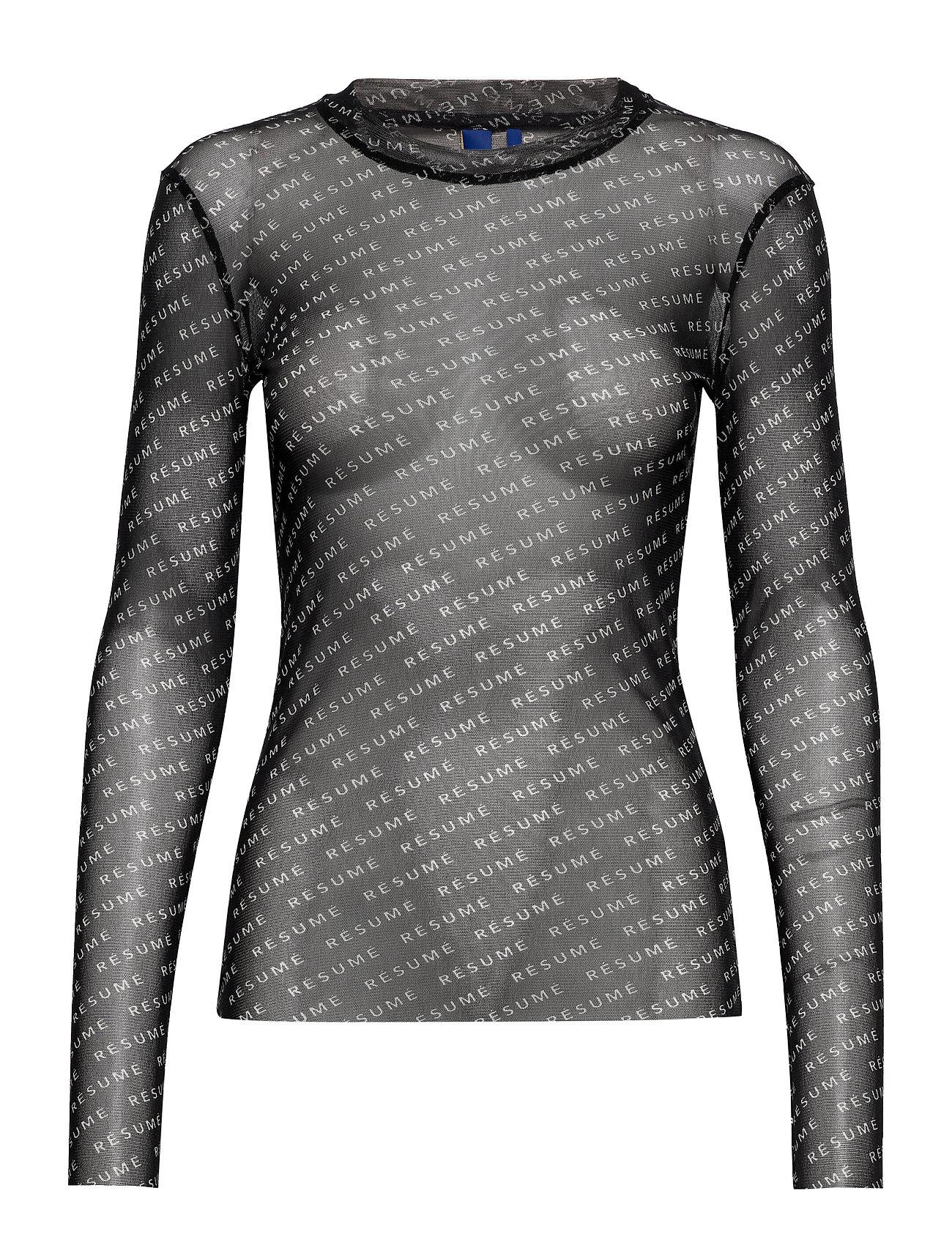 Résumé Poxy blouse - BLACK
