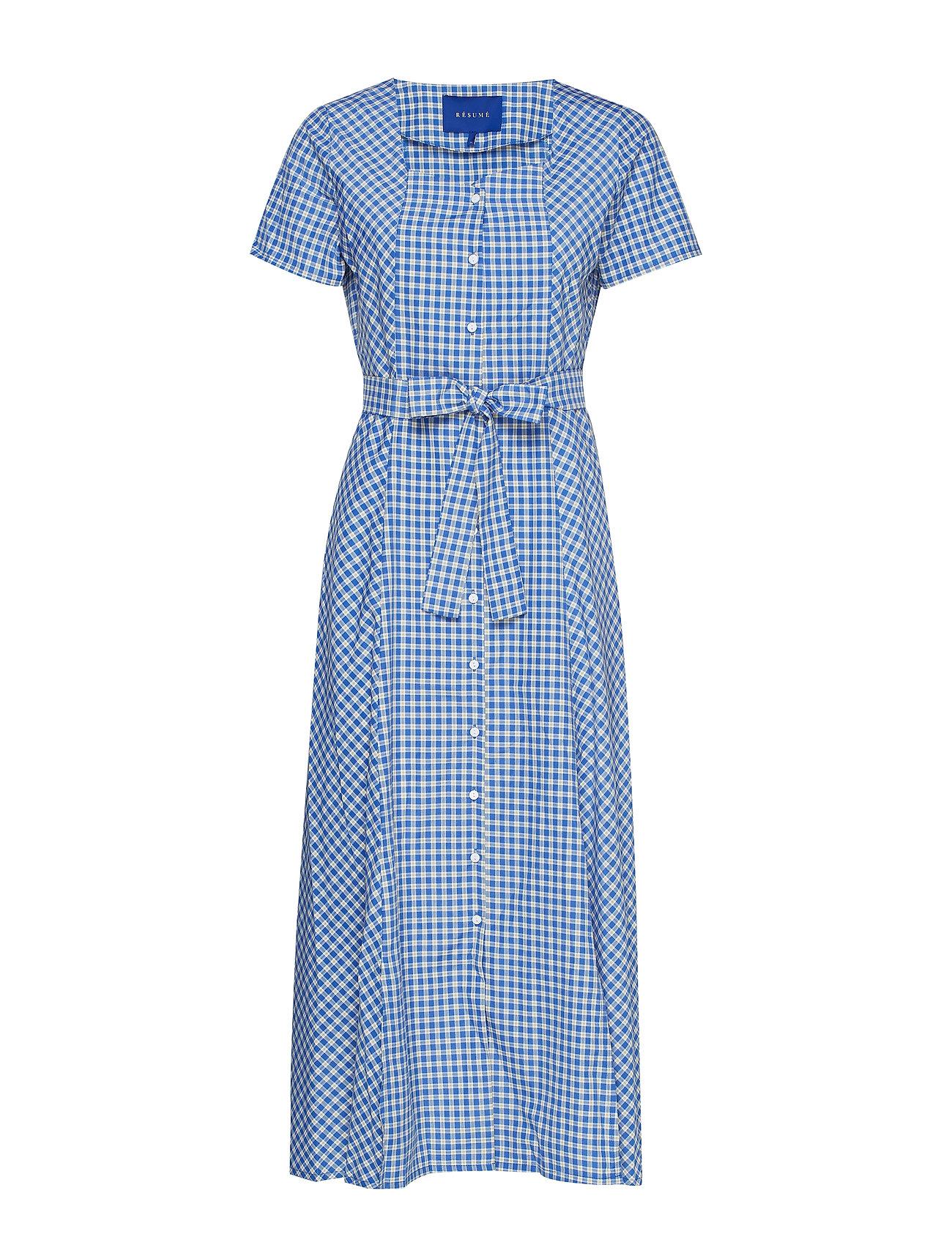 Résumé Noma dress - OCEAN BLUE