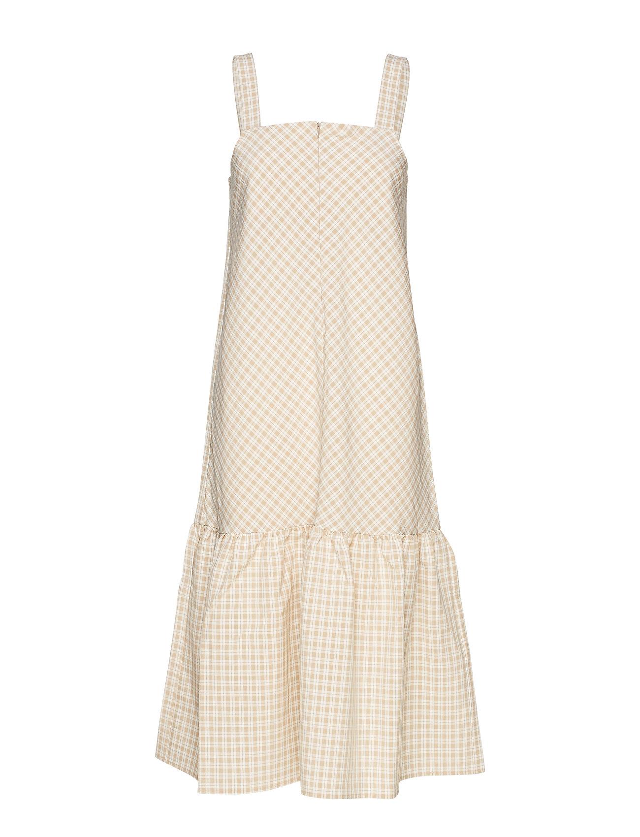 Résumé Oxford dress - SAND