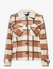 Résumé - Ada Jacket - wool jackets - camel - 0