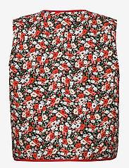 Résumé - CalliRS Vest - puffer vests - red - 1