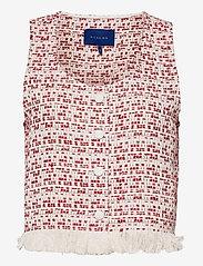 Résumé - CapriRS Top - puffer vests - red - 0