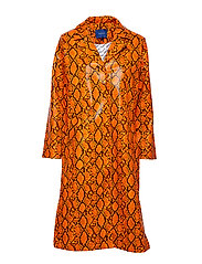 Leia coat - ORANGE