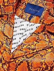 Résumé - Leia coat - manteaux legères - orange - 4