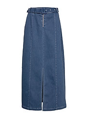 Paige skirt - DARK DENIM