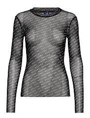 Poxy blouse - BLACK
