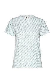 Ann t-shirt - TURQUOISE