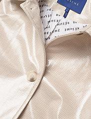 Résumé - Tennessee coat - dunne jassen - sand - 3