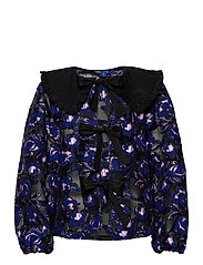 CarmenRS Blouse - ELECTRIC BLUE