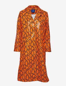 Leia coat - ORANGE