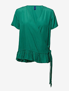 Haven Blouse - GREEN