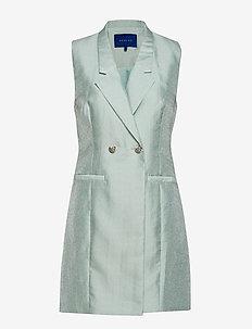 Misty waistcoat - kamizelki - mint