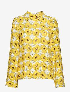 Maron blouse - SUNFLOWER