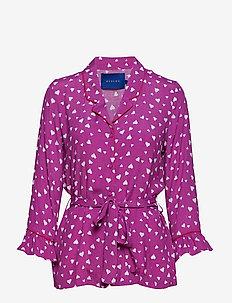 Michelle shirt - VIOLET