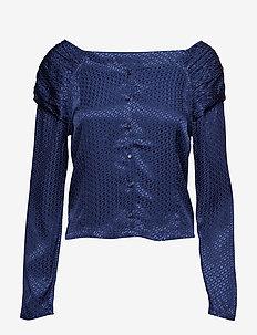 Mimi blouse - NAVY