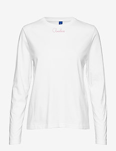 Muse ls tee - WHITE